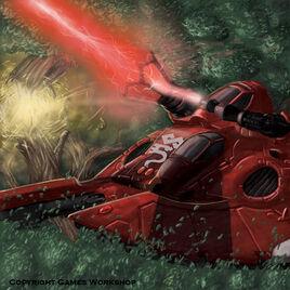 Eldar tank