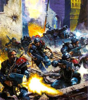 Guardia Imperial Colmena Lyubov Cruzada Mundos Sabbat Wikihammer