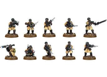 Mini GI legion de acero escuadra