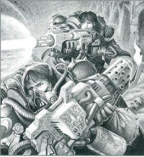 Sororitas Hermanas dominium combate wikihammer