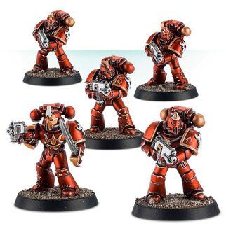 Escuadra Táctica Veterana Mk. IV Maximus Legión Mil Hijos
