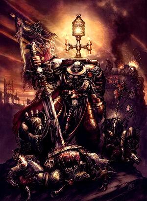 Mariscal Helbrecht Templarios Negros en Armageddon