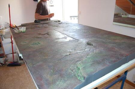 Pintura tablero modular 11