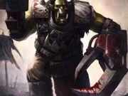 Warhammer 40k ork wallpaper for mobile-t2