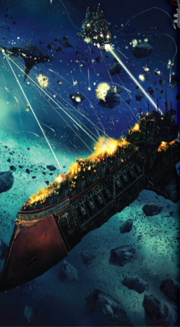 Flota vs orkos daños imperiales