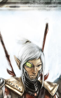 Arathir the eldar corsair