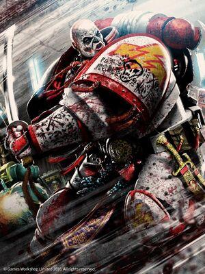 Marines cicatrices blancas espada combate