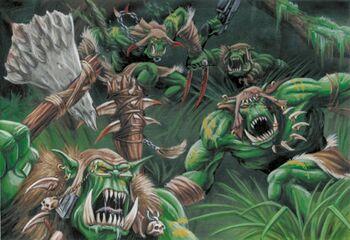 Orkos salvajes feudal warhammer 40k wikihammer
