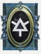Simbolo eldar runa guardianes asalto