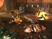 Captura de pantalla de Freeblade - Ángeles Oscuros y Orkos