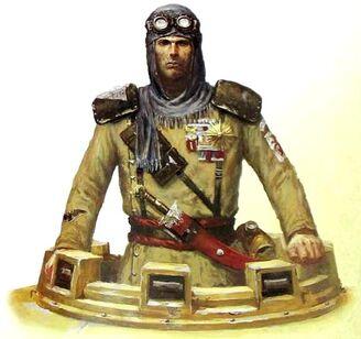GI tropas desierto talarn capitan suhara 17 regimiento