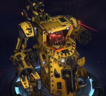 Gorkanaut Orkos Dawn of War III imagen