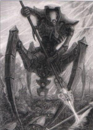 Illuminor Szeras Criptecnologo Necrones Wikihammer