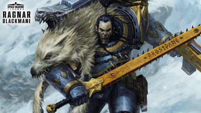 Wallpaper Ragnar Blackmane Aaron Dembski-Bowden Señor Lobo Lobos Espaciales