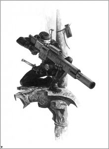 Asesino Vindicare Rifle Exitus BN