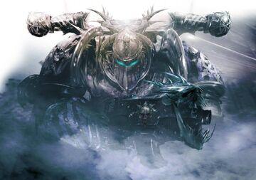 Caos guerrero de hierro wikihammer