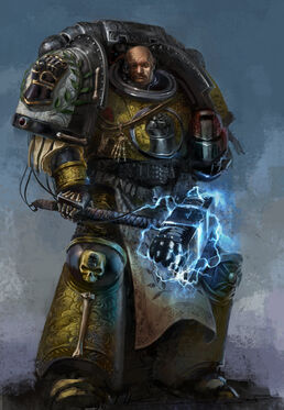 Capitan Puño Imperial Wikihammer