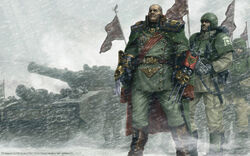 Wallpaper Warhammer 40,000 Dawn of war Winter Assault Sturnn Lorn V