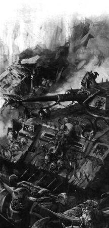 Caos tanque predator BN