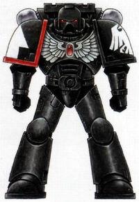 Esquema Guardia del Cuervo Servoarmadura Mk. VII Aquila
