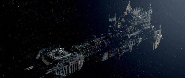 Flota barcaza de batalla imperial