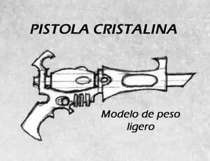 Pistola cristalina