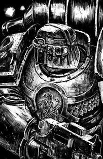 Caos legion alfa legionario BN