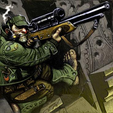 Ratling rifle francotirador