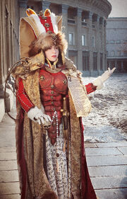 Warhammer queen lachryma iii by ashitaro-d3dkgob