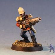 Classic Preatorian with a grenade launcher
