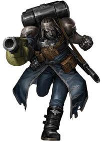 Jenízaros Macabeos Guardia Imperial máscara Warhammer 40k Wikihammer 3