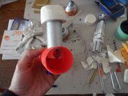 Titan Reaver 9 Destructor Laser 5 1 Ensamblaje arma Vista posterior