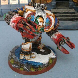 Dreadnought Devoradores Mundos Pre herejía Warhammer 40k Wikihammer