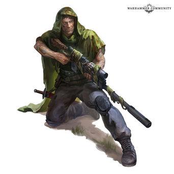 Guardia imperial tanith Larkin