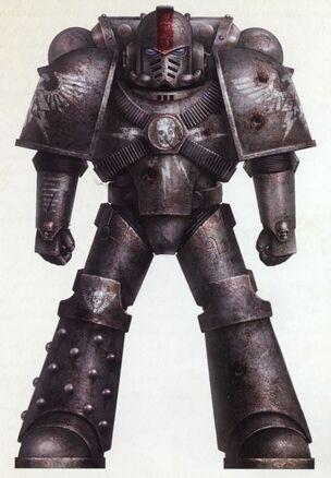 Marines escudos negros herejia de horus