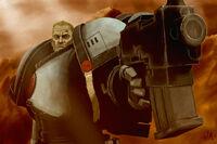 Garviel Loken Lobos Lunares Herejía Capitán Warhammer 40k Wikihammer