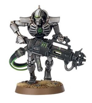 Immortal Necron Carabina Tesla Wikihammer