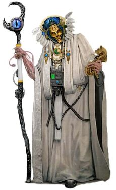 Magister immateriales Hechicero de Q'sal wikihammer