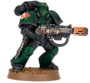 Marine Táctico Rifle Fusión Discípulos Caliban