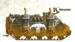 Rhino Zakeado Goff Orkos FW ilustración