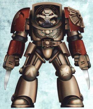 Sargento Veterano Exterminador Minotauros Wikihammer