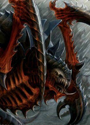 Tiranidos viejo un ojo carnifex