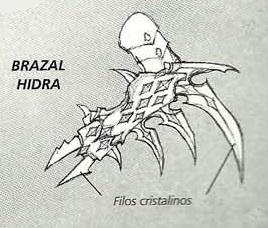 Brazal hidra Eldars Oscuros 5ª Edición ilustración
