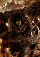 Corax luchando Masacre del Desembarco Istvaan V