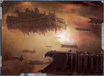Flota de batalla fortaleza estelar