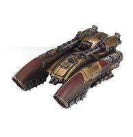 Tanque Gravítico Caladius Custodes Forge World miniatura