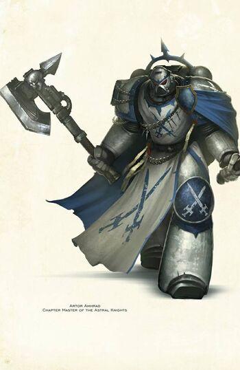Artor Amhrad Señor del Capítulo Caballeros Astrales