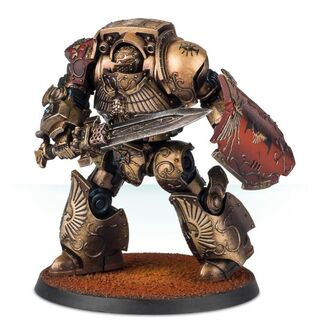 Dreadnought Contemptor-Galatus Legio Custodes Forge World miniatura