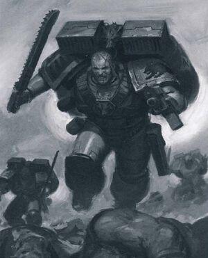 Garras del Cielo Lobos Espaciales 5ª Edición ilustración