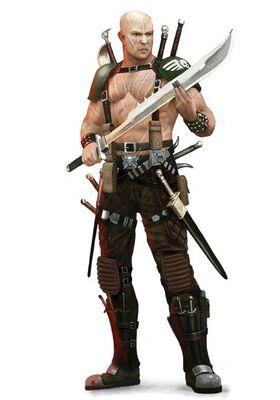 Guardia Imperial cuchillos largos brontianos wikihammer